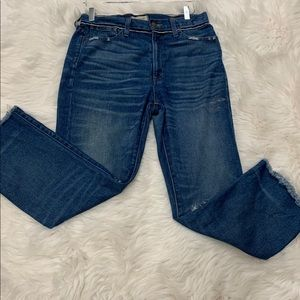 MADEWELL RETRO CROP BOOTCUT PANTS Size 28